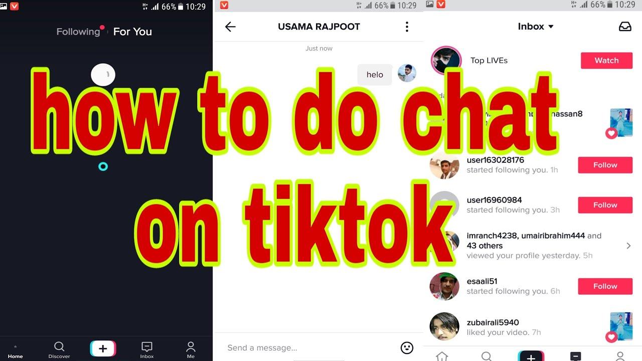 tiktok chat